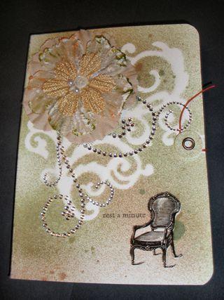 Embellished notebook